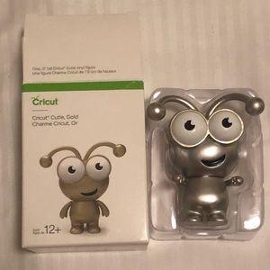 "Cricut Cutie Gold Collectible 3"" New In Box!!"